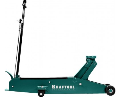 KRAFTOOL HIGH-LIFT 10т 160-560мм подкатной домкрат для тяжелой техники