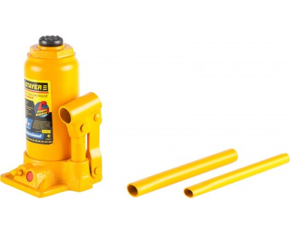 STAYER 8т 200-385мм домкрат бутылочный гидравлический, PROFESSIONAL