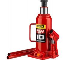 STAYER RED FORCE 10т 230-460мм домкрат бутылочный гидравлический