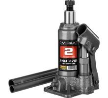 MIRAX 2т, 148-278 мм домкрат бутылочный гидравлический