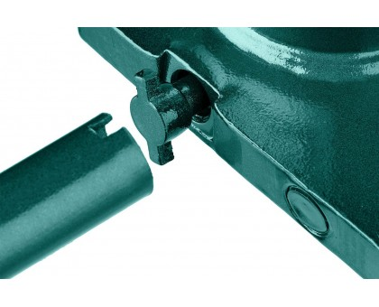 KRAFTOOL KRAFT-LIFT 4т, 204-391мм домкрат бутылочный гидравлический, KRAFT BODY