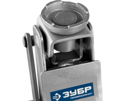 ЗУБР Т-65 2.5т 90-360мм подкатной домкрат с низким подхватом и поворотной ручкой, Профессионал