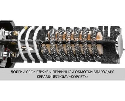 Фен технический (строительный), ЗУБР ФТ-1600, насадки 3 шт, 2 режима: 350град/ 350л/мин, 550град/ 550л/мин, коробка, 1600Вт