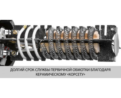 Фен технический (строительный), ЗУБР ФТ-2000, насадки 3 шт, 2 режима: 350град/ 350л/мин, 650град/ 550л/мин, коробка, 2000Вт