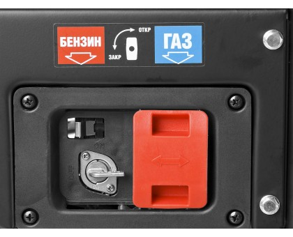 Генератор гибридный (бензин / газ), 2200 Вт, ЗУБР