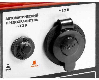 Бензиновый генератор с электростартером, 5500 Вт, ЗУБР