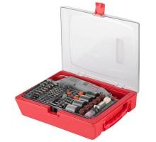 Гравер ЗУБР электрический с набором мини-насадок в кейсе, 176 предметов