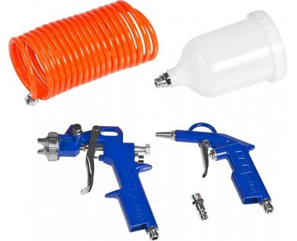 Компрессор воздушный безмасляный с набором аксессуаров, 180 л/мин, 6 л, 1100 Вт, ЗУБР