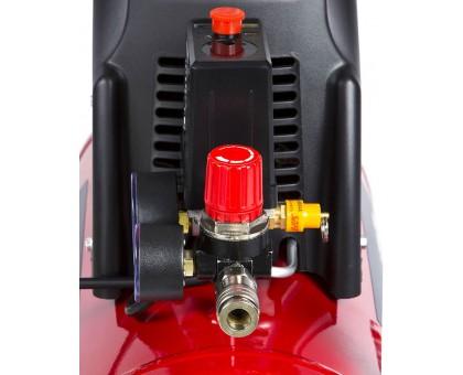Компрессор воздушный безмасляный с набором аксессуаров, 190 л/мин, 24 л, 1500 Вт, ЗУБР