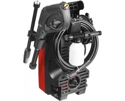 Мойка высокого давления (минимойка) электрич, ЗУБР АВД-100,макс. 100 Атм, 300л/ч,1400Вт,бачок для средства, АКВА-СТОП, 5м шланг, пистолет 375