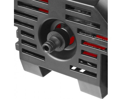 Мойка высокого давления (минимойка) электр, ЗУБР АВД-110,макс. 110Атм,300л/ч,1400Вт,колеса,бачок для средства,АКВА-СТОП,5м шланг,пистолет 375