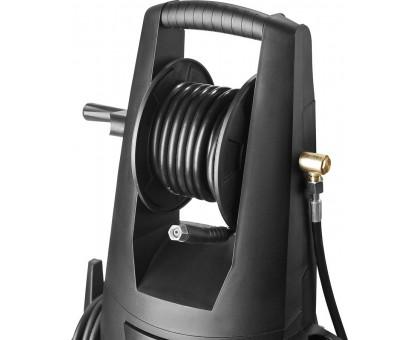 Мойка высокого давления (минимойка) электр, ЗУБР Профессионал АВД-П225, макс. 225Атм,408л/ч,3000Вт,колеса,бесщет двиг,АВТО-СТОП,барабан,пистолет 375