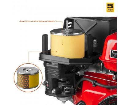Мотопомпа бензиновая, ЗУБР МПГ-1300-80, для грязной воды, 1300 л/мин (78 м3/ч), патрубки 80 мм, напор 27 м, всасывание 8 м
