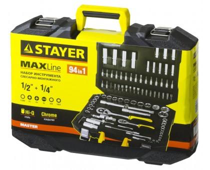 STAYER MASTER 94 универсальный набор инструмента 94 предм.