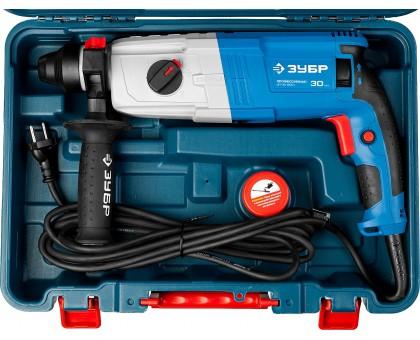 Перфоратор SDS-plus, ЗУБР Профессионал ЗП-30-900 К, реверс, горизонтальный, мет. редуктор, 3.3 Дж, 0-1000 об/мин, 0-5500 уд/мин, 900 Вт, кейс
