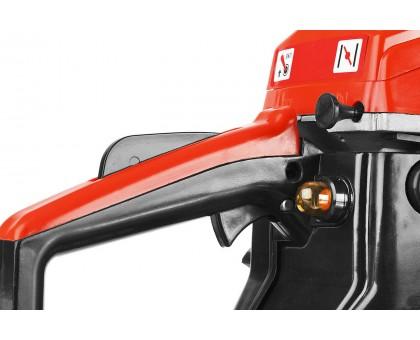 Пила цепная бензиновая, ЗУБР ПБЦ-М450 40П, хромир. цилиндр, праймер, 45 см3 (1,6 кВт), шина 40 см, 11500 об/мин