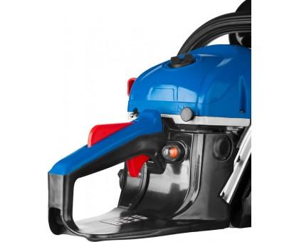 Пила цепная бензиновая, ЗУБР Профессионал ПБЦ-450 40П, хромир. цилиндр, праймер, 45 см3 (1.8 кВт), шина 400 мм, 10800 об/мин