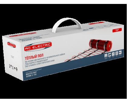 Мат нагревательный AC ELECTRIC ACMM 2-150-1 (комплект теплого пола)