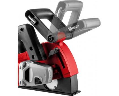 Штроборез (бороздодел), ЗУБР ЗШ-30-1200 Т, макс. глубина паза 30 мм, 125 мм, пылезащита, подключение пылесоса, защита от перегрузки, 1200 Вт