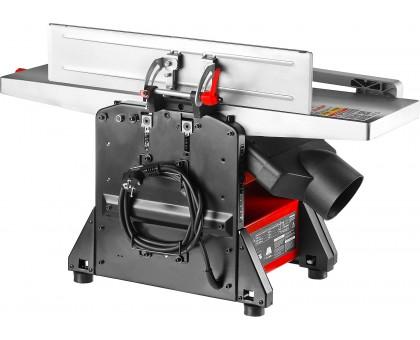 Станок фуговально-рейсмусовый, ЗУБР СРФ-204-1500, ширина строгания 204мм, толщина заготовки до 120мм, 2 ножа, 9000 об/мин, 1500Вт, 6м/мин