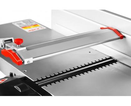 Станок фуговально-рейсмусовый, ЗУБР СРФ-254-1600С, ширина строгания 254мм, толщина заготовки до 120мм, 2 ножа, 9000 об/мин, станина, 1600Вт, 6м/мин
