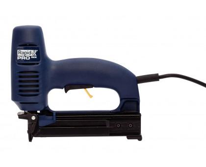 RAPID PRO R606 2-в-1 электрический степлер, тип 55 (C / 14 / 606) (12-25 мм) и 300 (F / J / 47 / 8) (15-25мм)