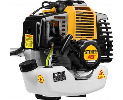 STEHER BT-1300 бензокоса, 1.3 кВт / 1.7 л.с., 43 см3